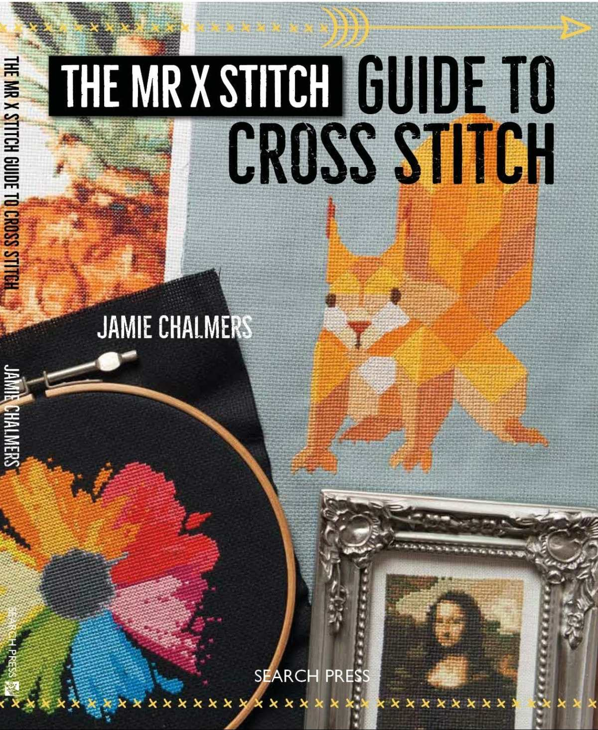 The Mr X Stitch Guide to Cross Stitch is coming!