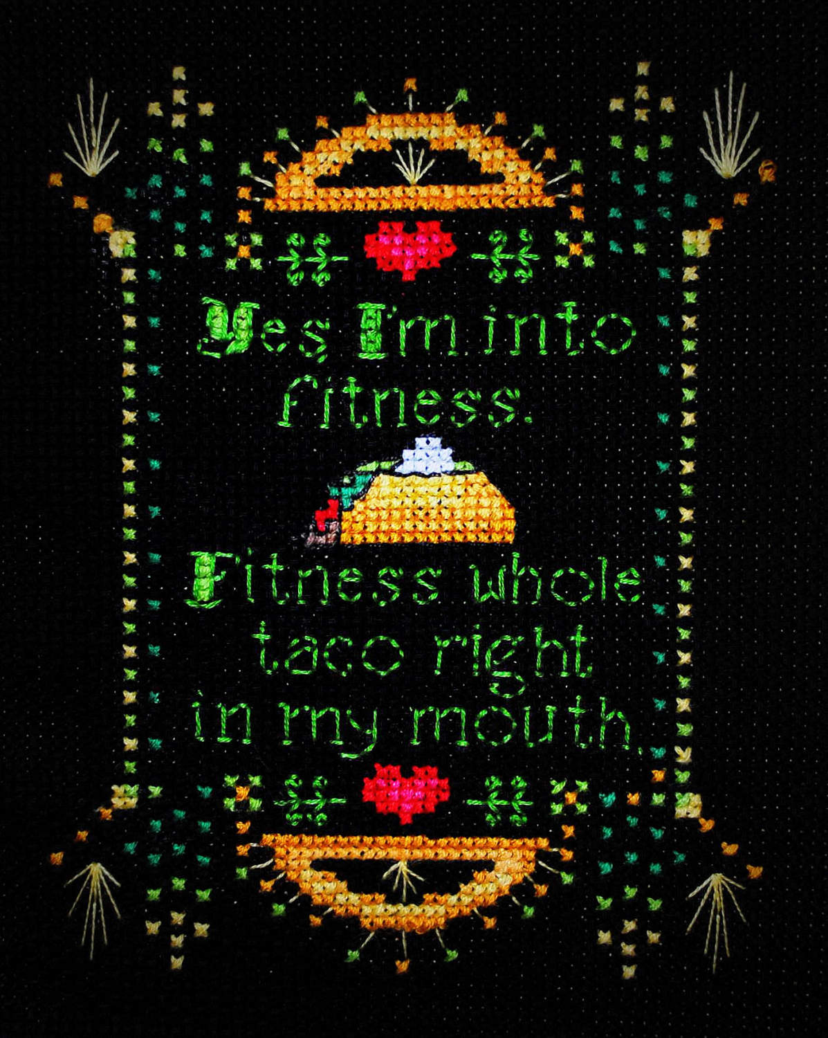 Craftster Pick of the Month – CrafterDark's Taco Bella
