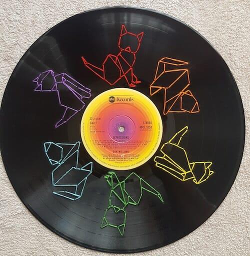 Son of a Cross Stitch - Cat Vinyl