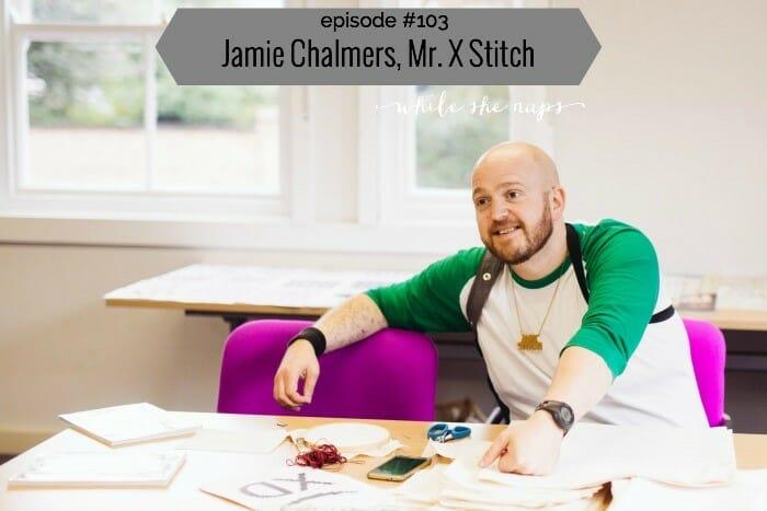 While She Naps, Mr X Stitch Talks!