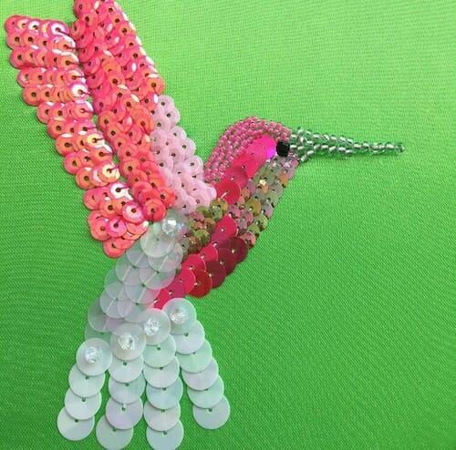 Textiles By Becca - Hummingbird