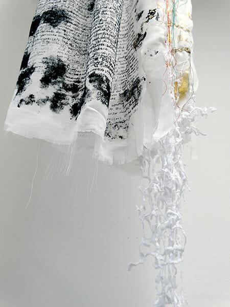 Christening gown hem detail, Sarah Jane Tickner