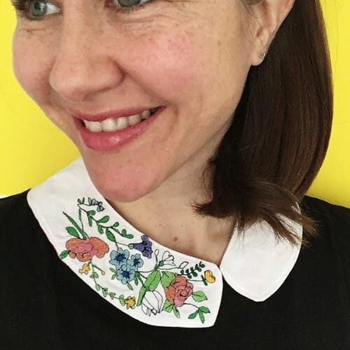 Thread Friends - Floral Collar