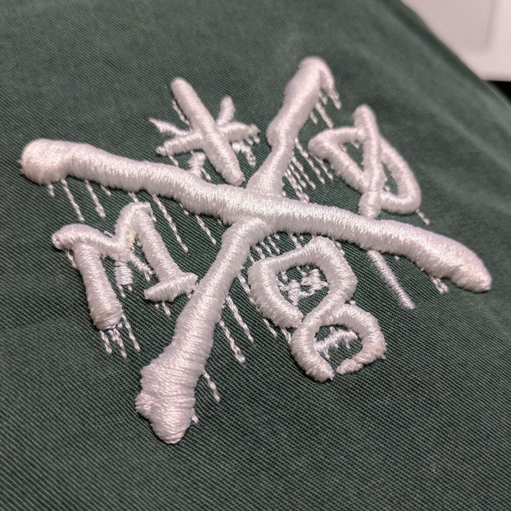 Machine Embroidery Mr X Stitch