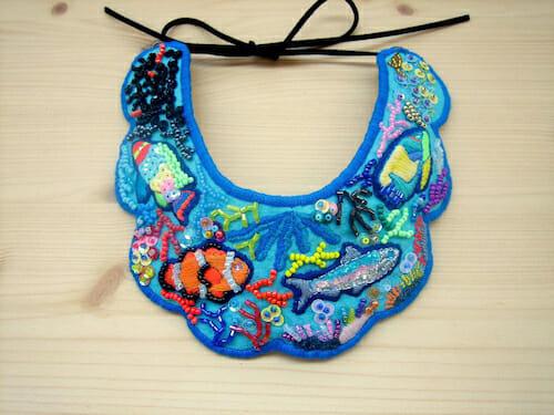Barney Laflaque - Under the Sea Necklace