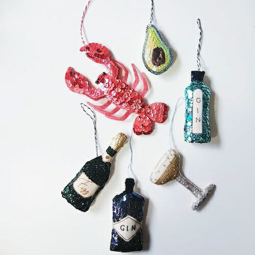 Embroidery by KG Design - Hanging Ornaments