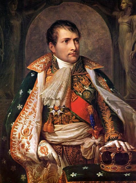 Portrait of Napoleon by Andrea Appiani 1805