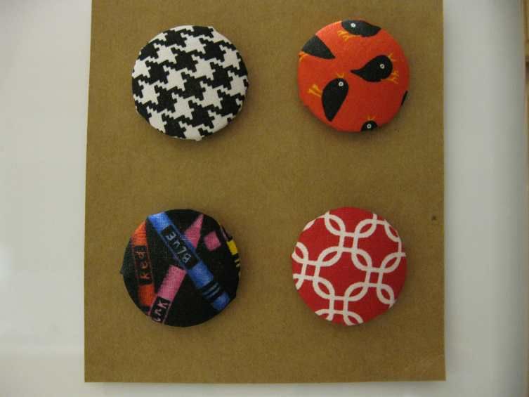 DYI Cloth Covered Needle Minders