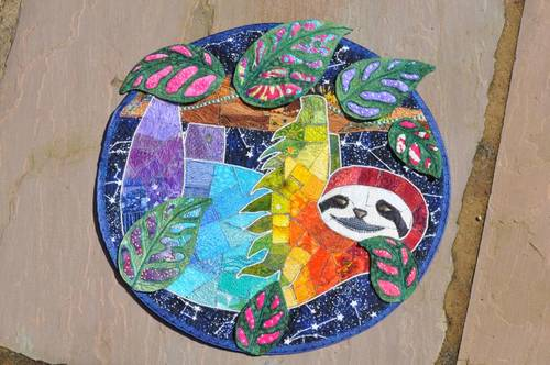 Craftster Pick of the Month – The Rainbow Sloth