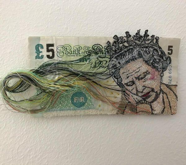 Alison Carpenter-Hughes - Fiver - Free Machine Embroidery