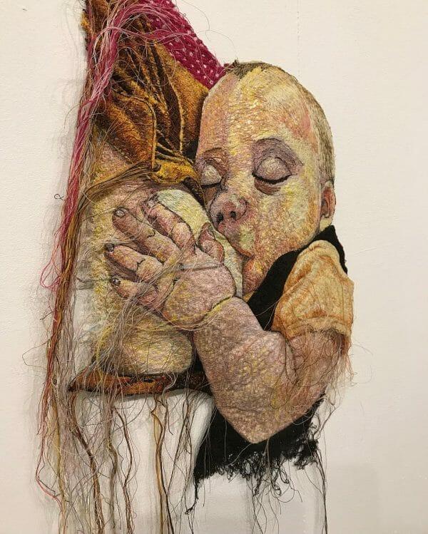 Alison Carpenter-Hughes - Little Connie - Free Machine Embroidery