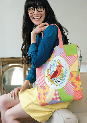Patchwork Tote by Penguin & Fish