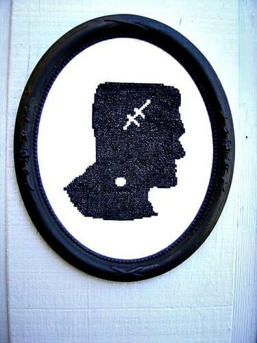 silhouette frankenstein