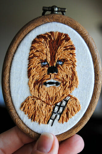NOT MY WORK! Chewie by Drop Dead Quirky