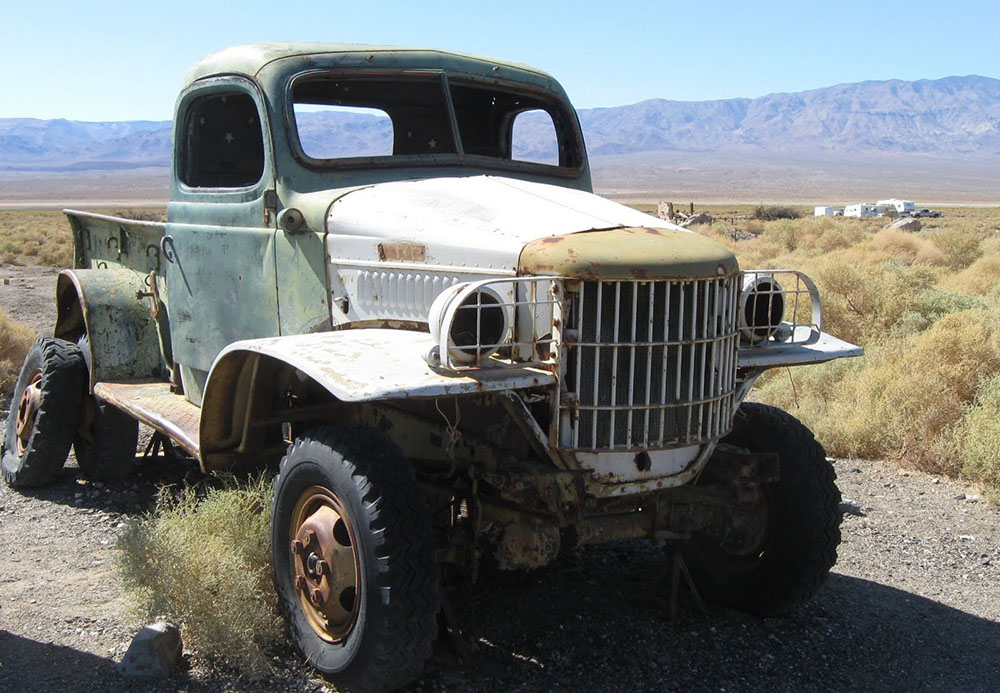 Charles Mansons Truck Easy Rider Ballarat California