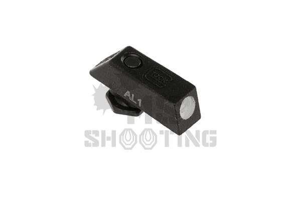 Glock Korn Stahl selbstleuchtend   Glockvisierung   MS - Shooting