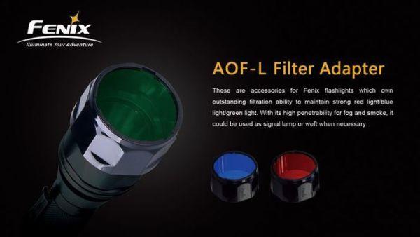 Fenix AOF-L Filter Green | Lampenzubehör | MS - Shooting
