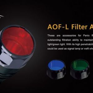 Fenix AOF-L Filter Red | Lampenzubehör | MS - Shooting