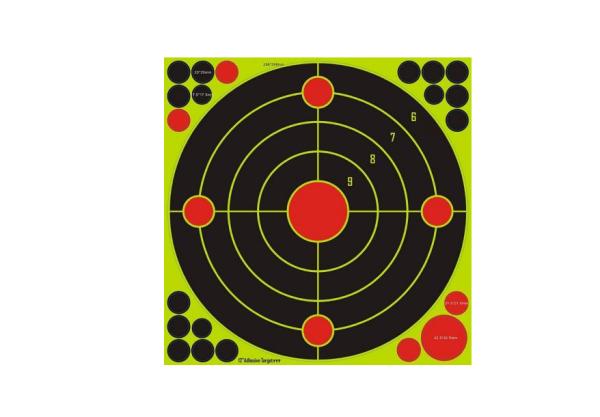 Splatter Target 30,5cm 10Stk | Ringscheiben | MS - Shooting