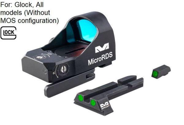MEPROLIGHT GLOCK TritiumSight Micro RDS | MS - Shooting