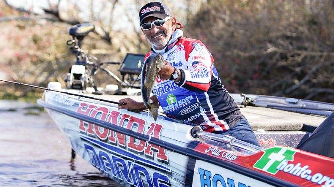 Paul Elias picks Ross Barnett as his favorite February bass fishing place.