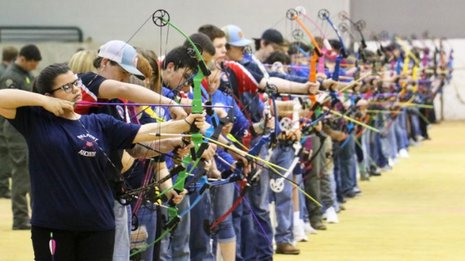 The Archery in Mississippi Schools championship drew around 6,600 students out of 70,000 involved in the program statewide.