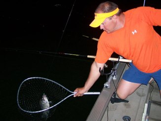 Crappie will bite at night, especially if you follow a few guidelines.