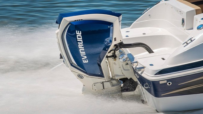 Evinrude Outboards will no longer produce boat motors according to their parent company, Bombardier Recreational Products. (photo courtesy of BRP)