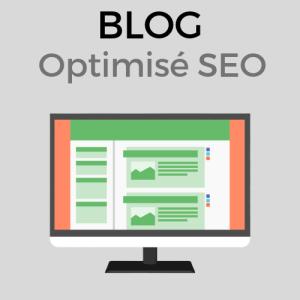 création de blog optimisé SEO