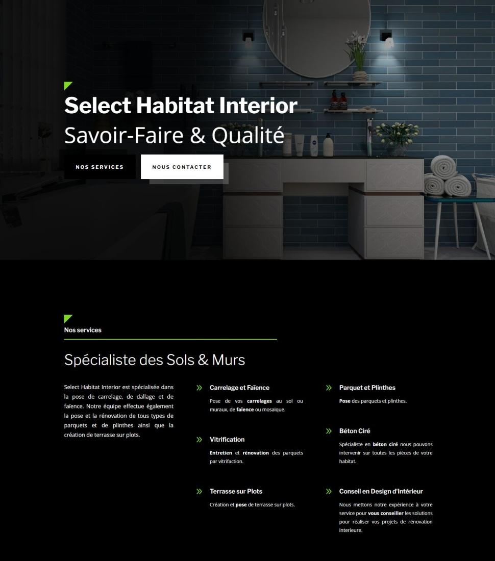 Carreleur, Carrelage et Parquet - Select Habitat Interior