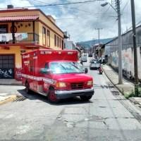 Cerrada a la circulación vial la calle Manuel Ocaranza
