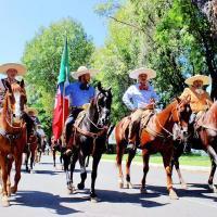 Excelente presentación de las Asociaciones de Charros de Uruapan