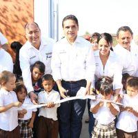 Rehabilitadas, escuelas de La Ruana con más de 22 mdp