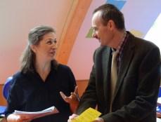 Helga Braun und Rudolf Beer leiten die Herausgabe der Zeitschrift.