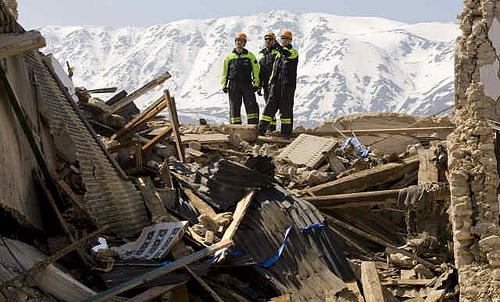 Earthquake in Abruzzo: the aftermath