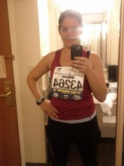 Heading to the half-marathon in SF