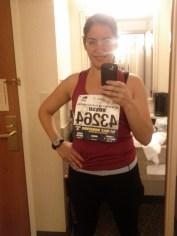 Heading to the half-marathon in SF