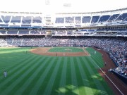 Catching a Padres game with colleagues