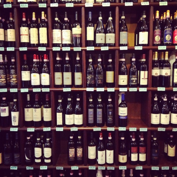 When in Barbaresco, drink…a wall of #Barbaresco. #vino #italy #wine