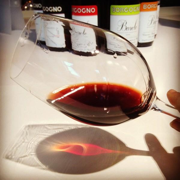 Tasting #Barolo in Barolo. Borgogno 1998. Heavy mushroom & meat/stall undertones #italy #vino #wine