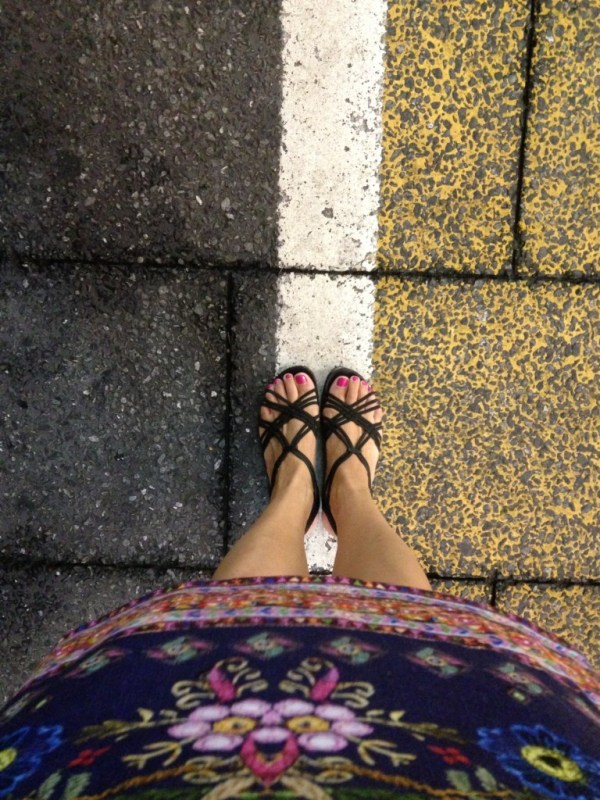 West meets East, in Tokyo, Japan, by Sara Rosso at Ms. Adventures in Italy
