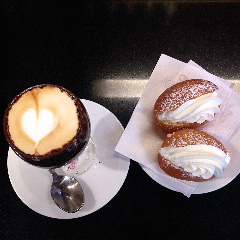 Birthday Marocchino and Maritozzi by Ms. Adventures in Italy, Sara Rosso