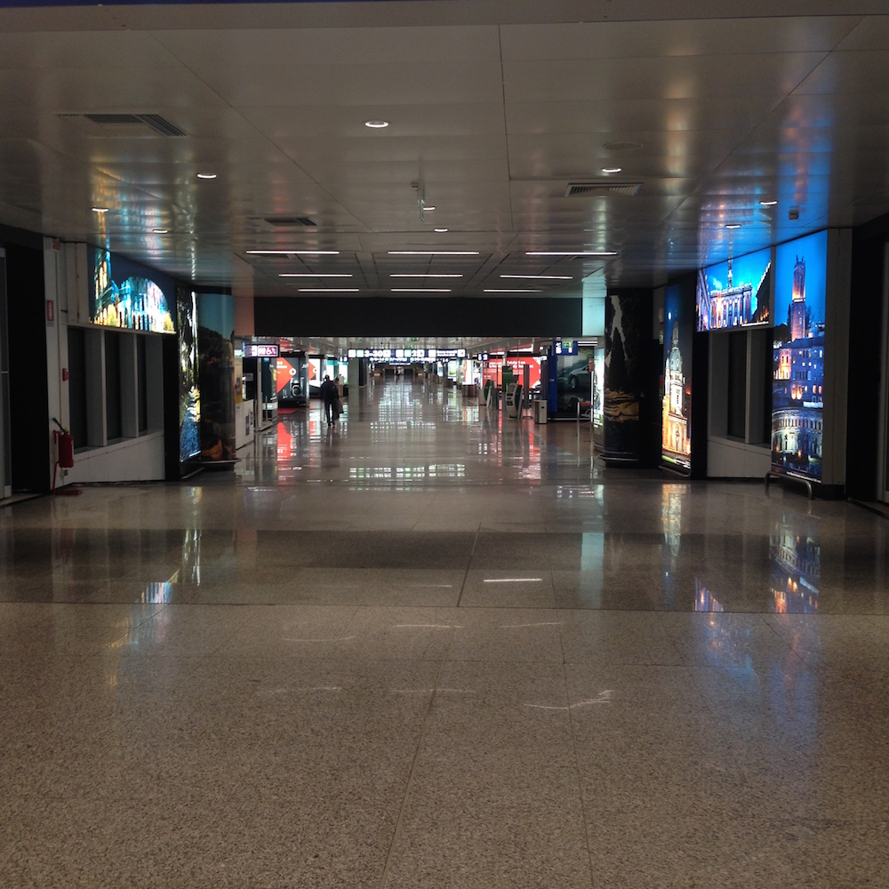 Deserted Airport, Ms. Adventures in Italy by Sara Rosso