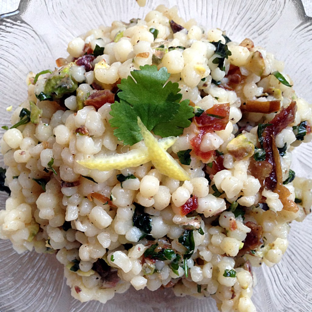 Israeli Cous Cous on Ms. Adventures in Italy by Sara Rosso
