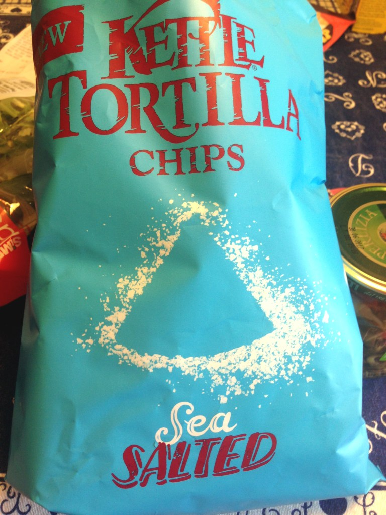 Kettle Tortilla Chips on Ms. Adventures in Italy