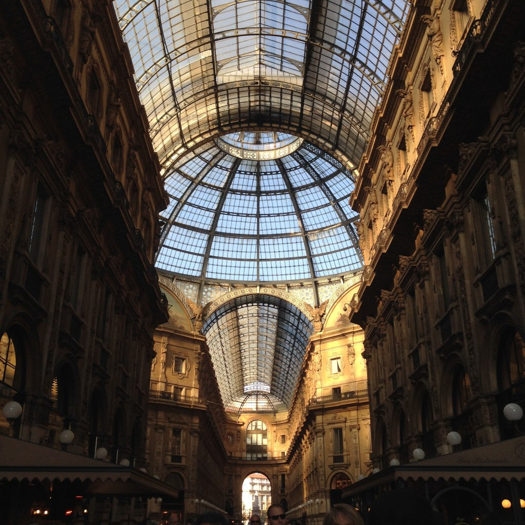 Galleria Vittorio Emanuele, Ms. Adventures in Italy, by Sara Rosso