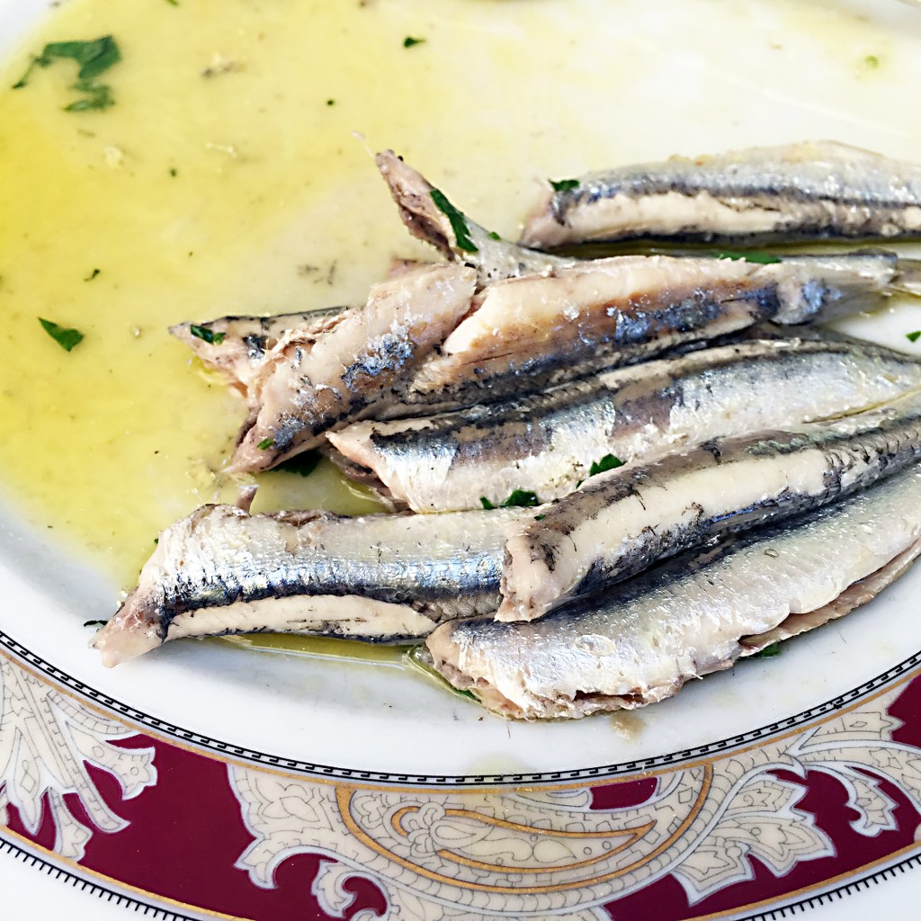 Alici marinate al limone, anchovies marinated in lemon, Ms. Adventures in Italy, by Sara Rosso