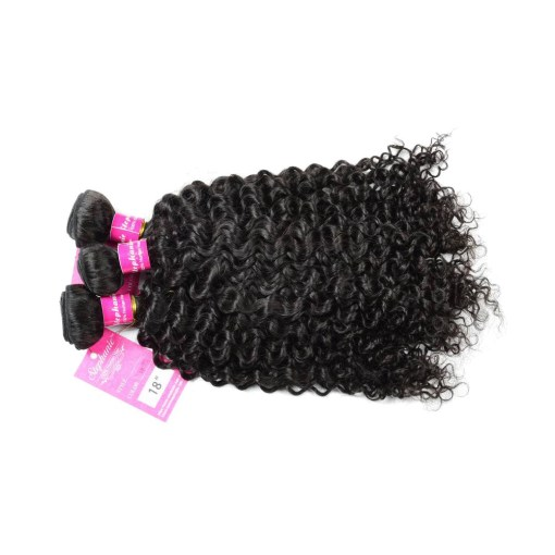 Curly Wave Hair Bundles Virgin Human Hair 3
