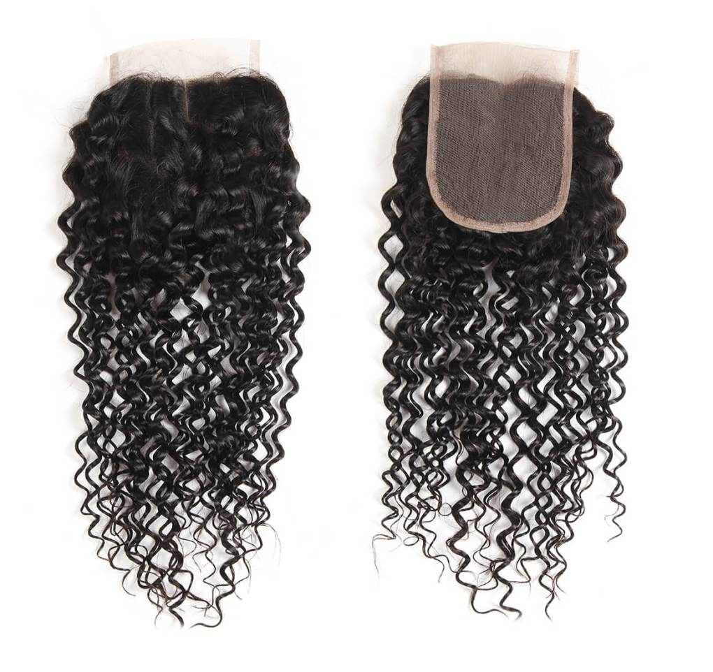 curly weave lace closure 6