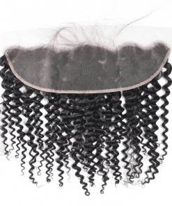curly weave lace frontal 1